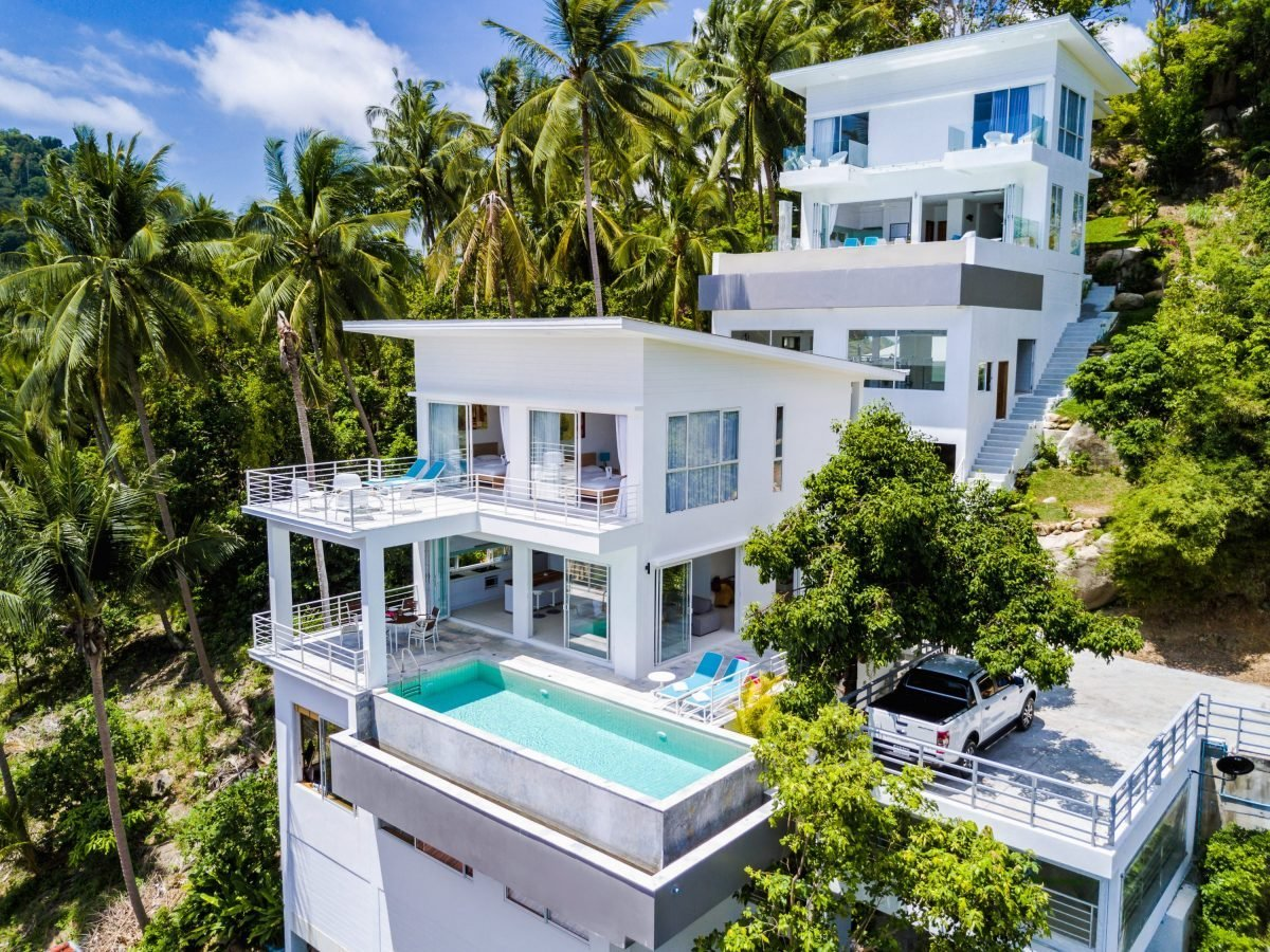 Best 3 Bedroom Villa With Sea View — Chaweng Noi Koh Samui With Pictures