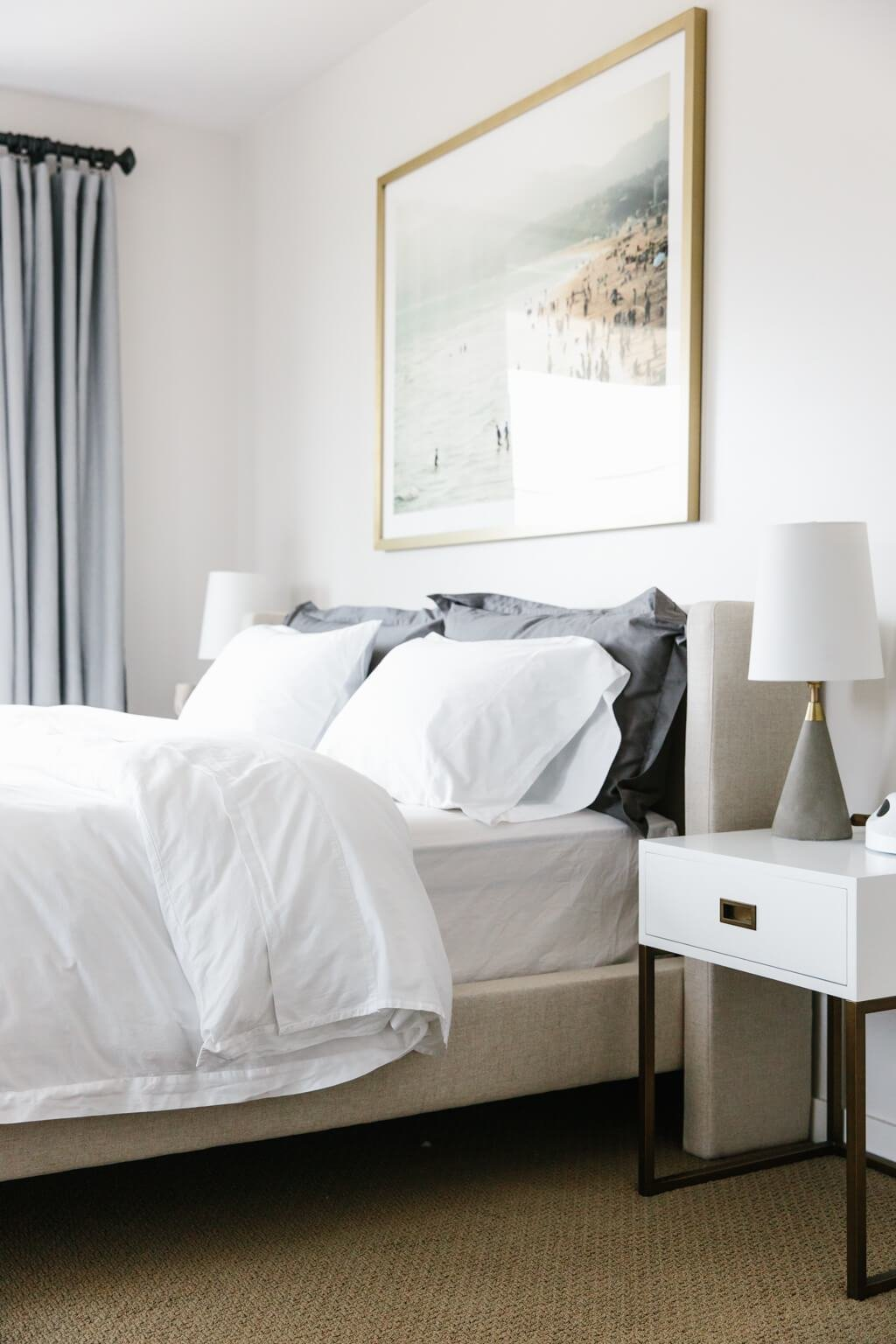 Best My Modern And Minimalist Bedroom Design With Havenly Downshiftology With Pictures
