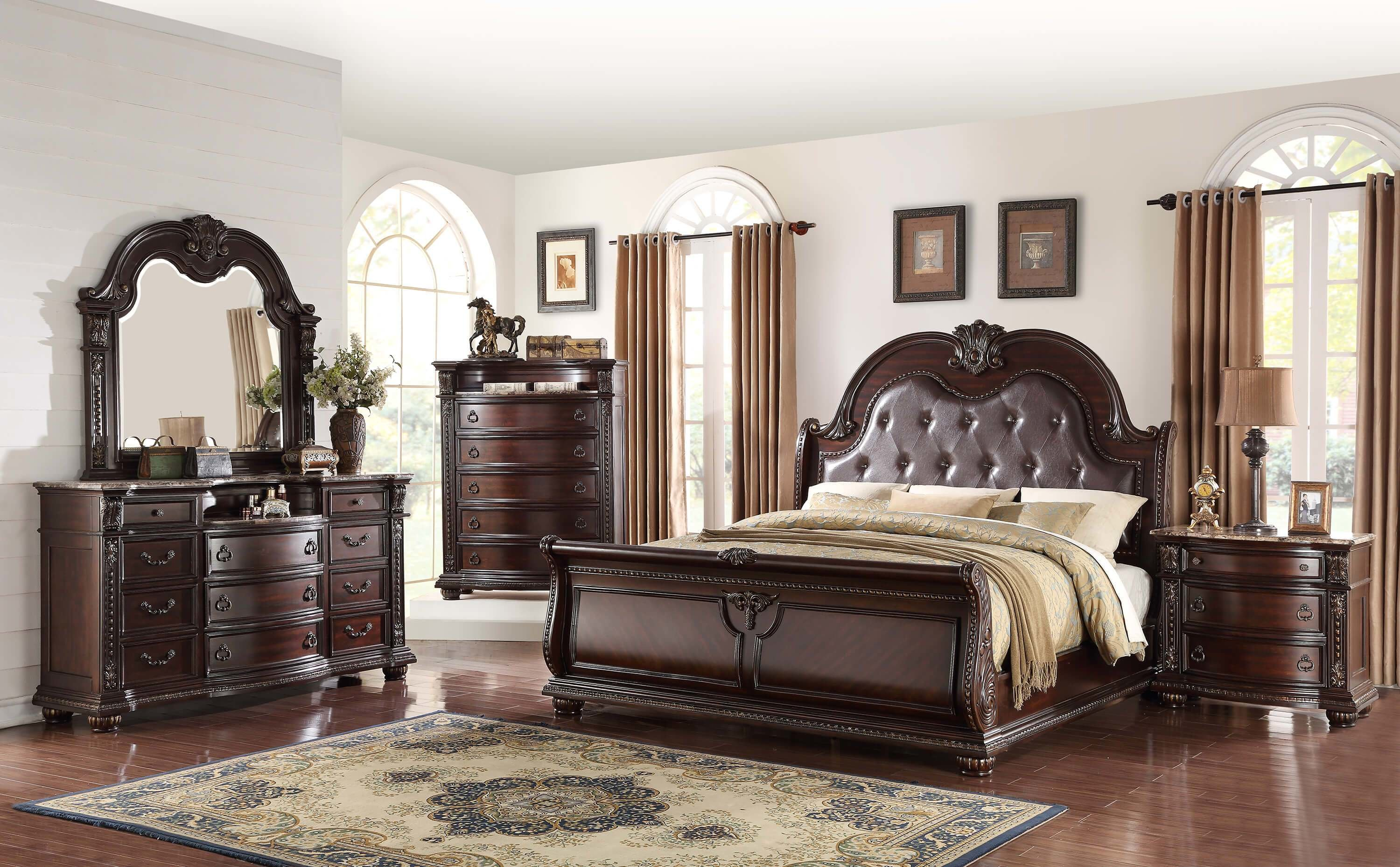 Best Stanley Marble Top Bedroom Set Bedroom Furniture Sets With Pictures