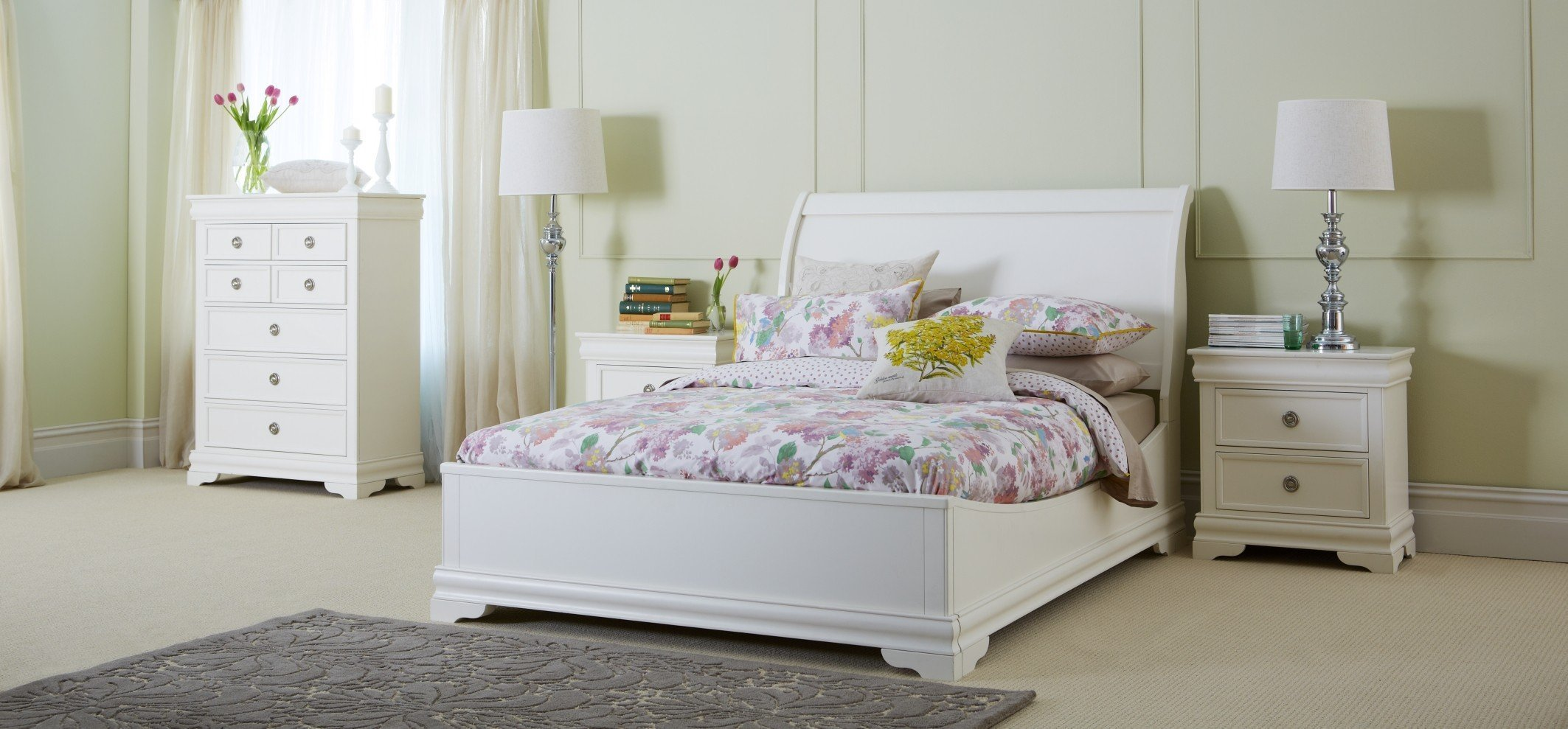 Best Ellegant Girls White Bedroom Furniture Set Greenvirals Style With Pictures