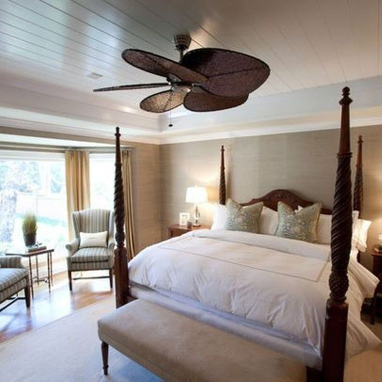 Best Size Ceiling Fan For Bedroom Homedcin Com With Pictures