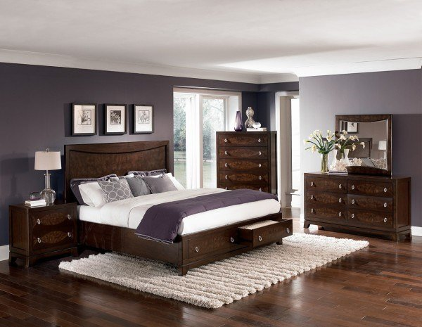 Best Bedroom Paint Colors With Cherry Wood Furniture Home With Pictures