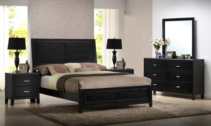 Best 5 Piece Bedroom Furniture Sets Groupon Goods With Pictures