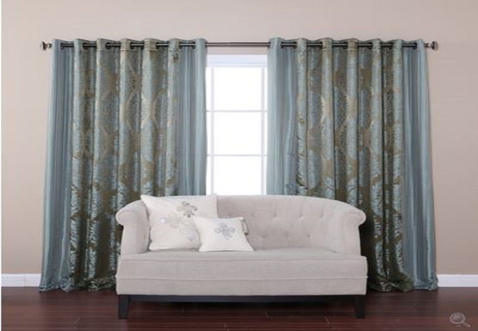 Best New Wide Width Bedroom Livingroom Grommet Window Treatment With Pictures