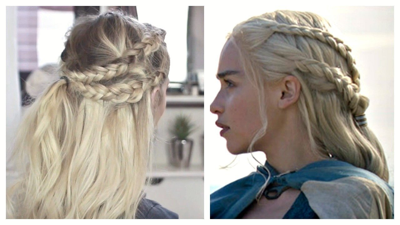 Free Game Of Thrones Hair Tutorial Daenerys Targaryen · How To Wallpaper
