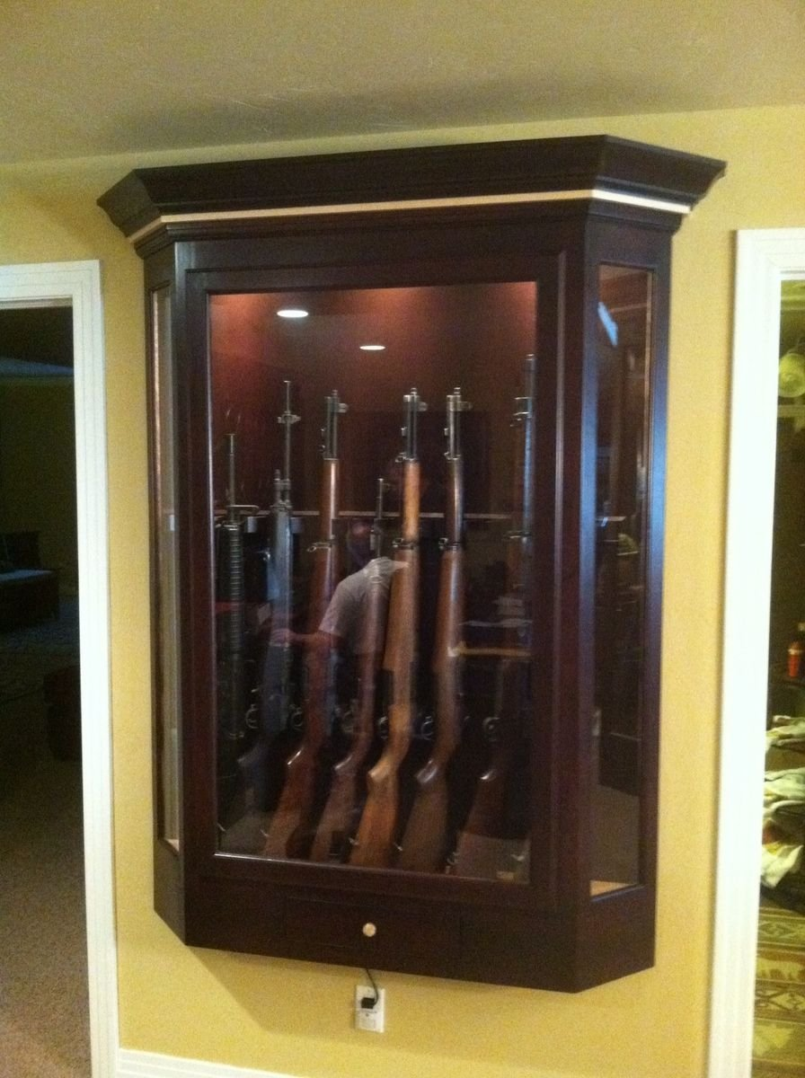 Best Custom Gun Case By Monarch Cabinetry Custommade Com With Pictures