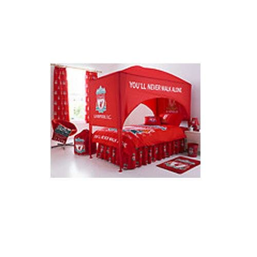 Best Liverpool Fc United Single Bed Canopy No1Brands4You With Pictures
