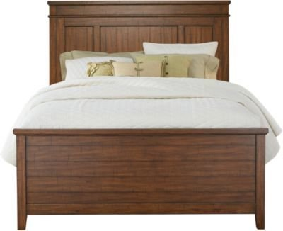Best Urban Plains Brown 3 Pc Queen Panel Bed Queen Beds Dark Wood With Pictures