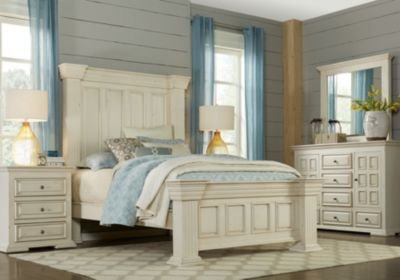 Best Ashworth Ivory 5 Pc King Panel Bedroom King Bedroom Sets With Pictures