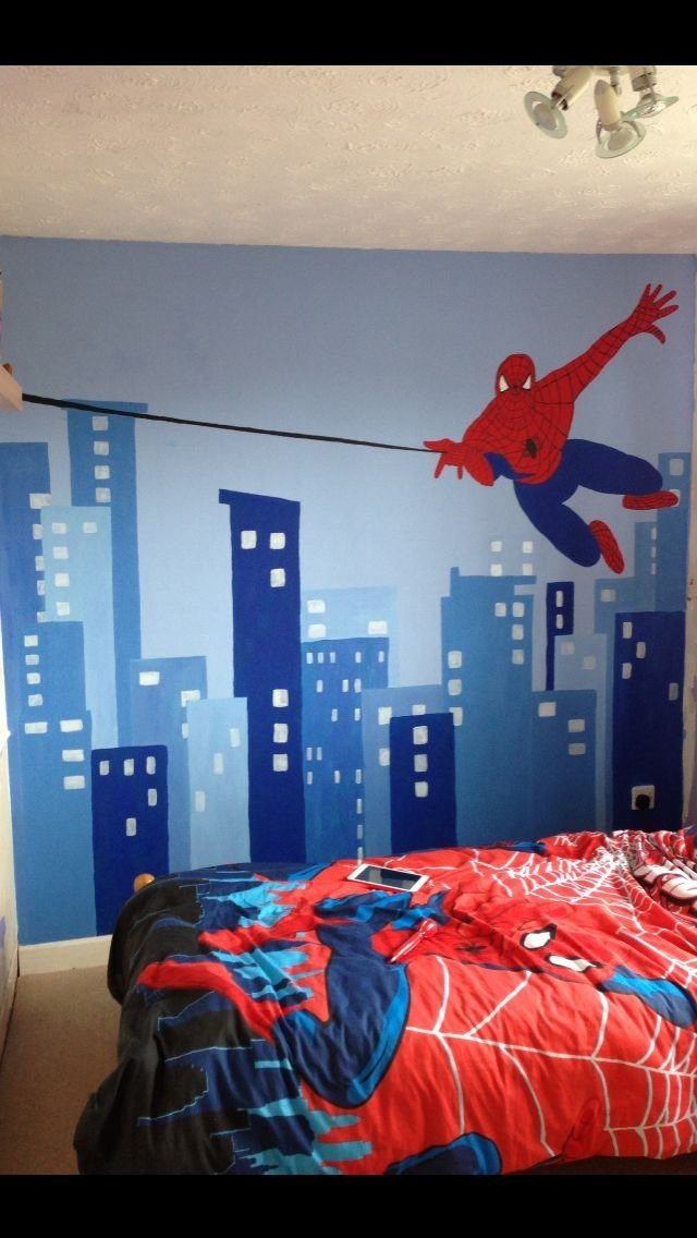Best 26 Best Spiderman Room Images On Pinterest Boy Nurseries With Pictures