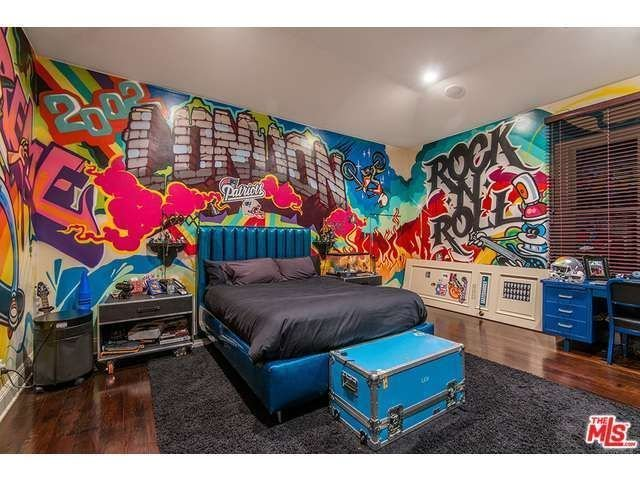 Best Rock N Roll Grafitti Bedroom For A Kid Tween Or T**N With Pictures