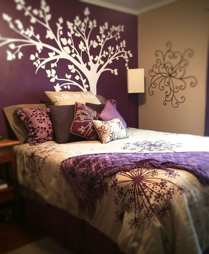 Best 293 Best Purple Bedroom Ideas Images On Pinterest Purple Cushions Purple Pillows And Purple With Pictures