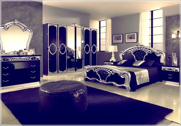 Best Royal Blue And Silver Bedding أحدث ديكورات لغرف النوم With Pictures