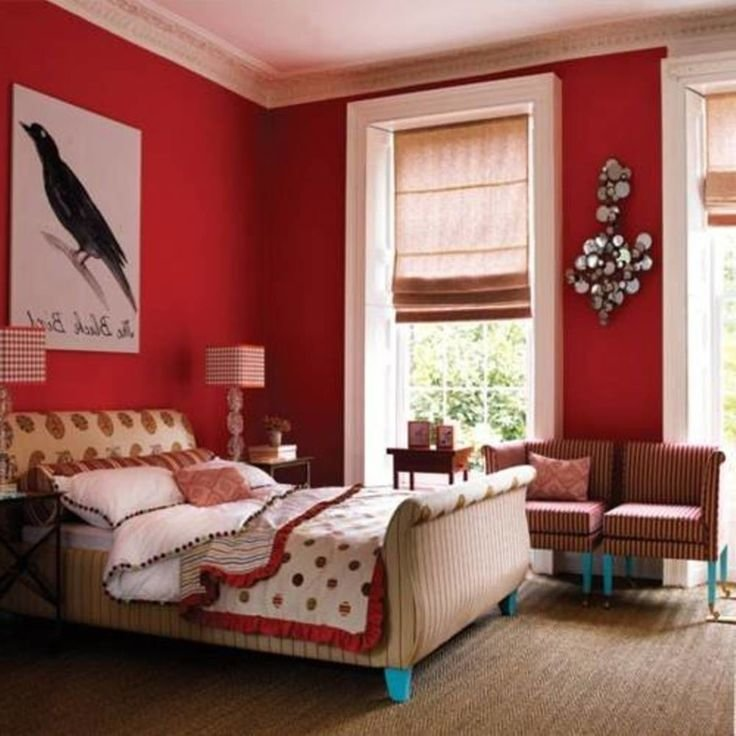 Best 25 Red Bedroom Walls Ideas On Pinterest Red With Pictures