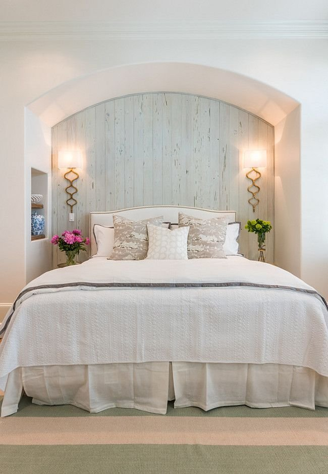 Best Gorgeous Guest Bedroom With Pale Blue Cypress Wall And With Pictures