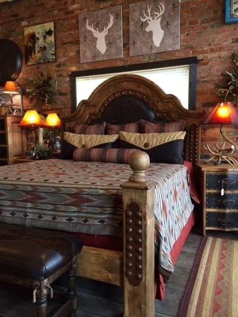 Best 59 Best Western Bedrooms Images On Pinterest Western With Pictures