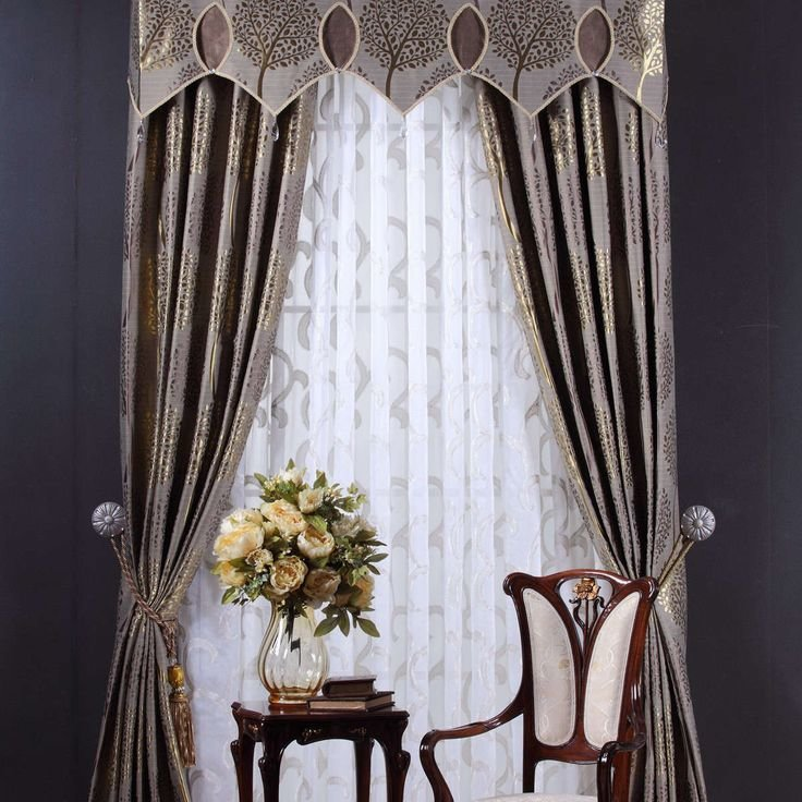 Best 414 Best Curtain Designs Images On Pinterest Curtain With Pictures