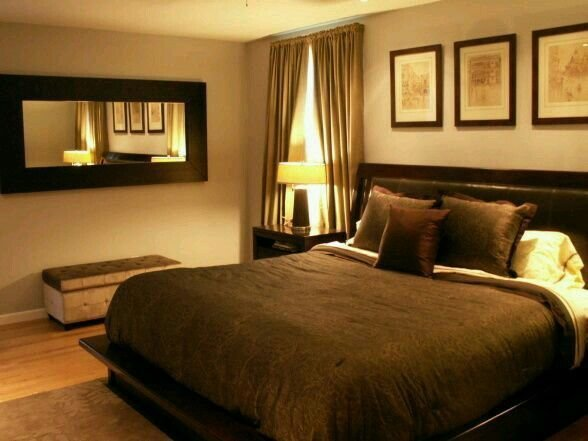 Best Tan Paint Brown Details Master Bedroom Ideas With Pictures