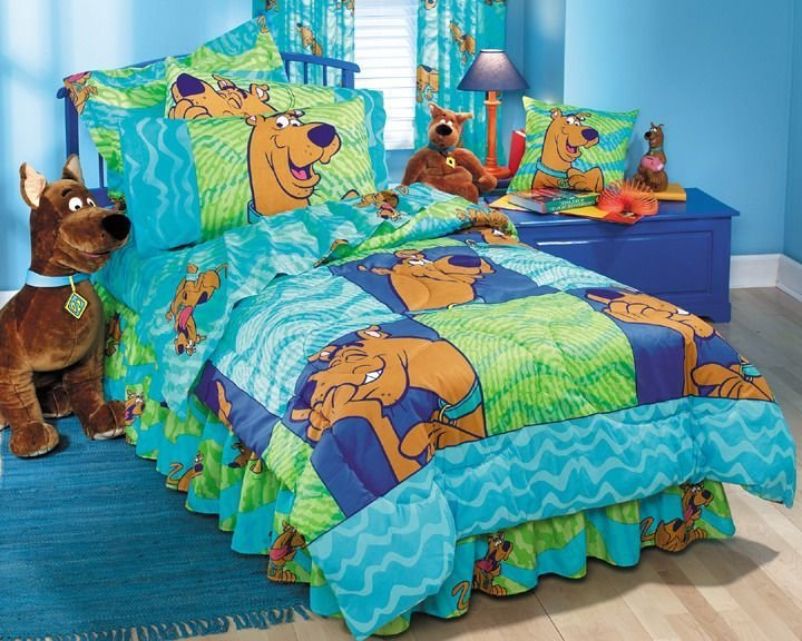 Best Fabulous Scooby Doo Bedding Set Image Ideas Scooby Doo With Pictures