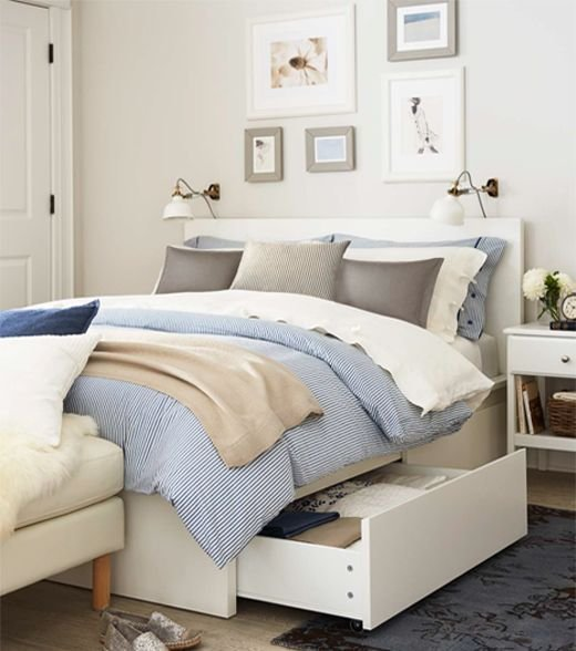 Best 25 Ikea Malm Bed Ideas On Pinterest Malm Bed Ikea With Pictures