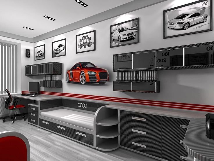 Best Car Themed Bedrooms For Teenagers Car Themed Bedroom With Pictures