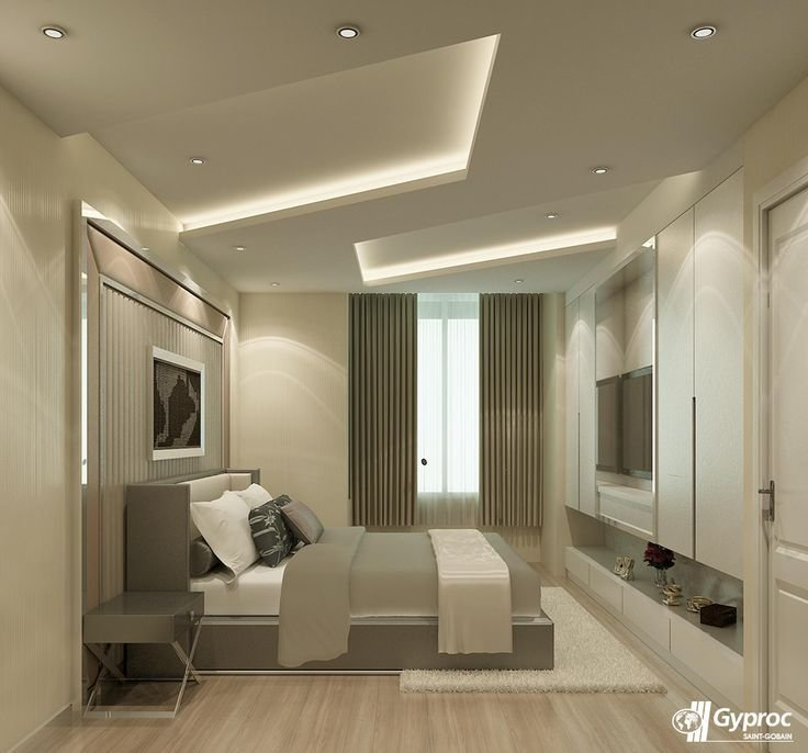 Best Install The Best Of Gyproc India Falseceilings Experience A Serene Lovely Bedroom Visit With Pictures