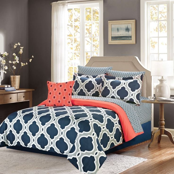 Best Ellen Westbury King Comforter Bedding Set With Sheets With Pictures