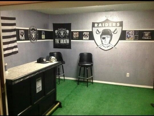 Best 318 Best Oakland Raiders Baby Images On Pinterest With Pictures
