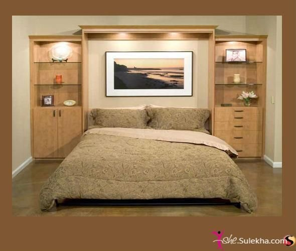 Best Awesome Headboard Wall Unit Idea Bedroom Murphy Bed Plans Murphy Bed Horizontal Murphy Bed With Pictures
