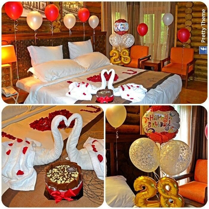 Best Romantic Decorated Hotel Room For His Her Birthday Romantic Ideas For That Special Someone With Pictures