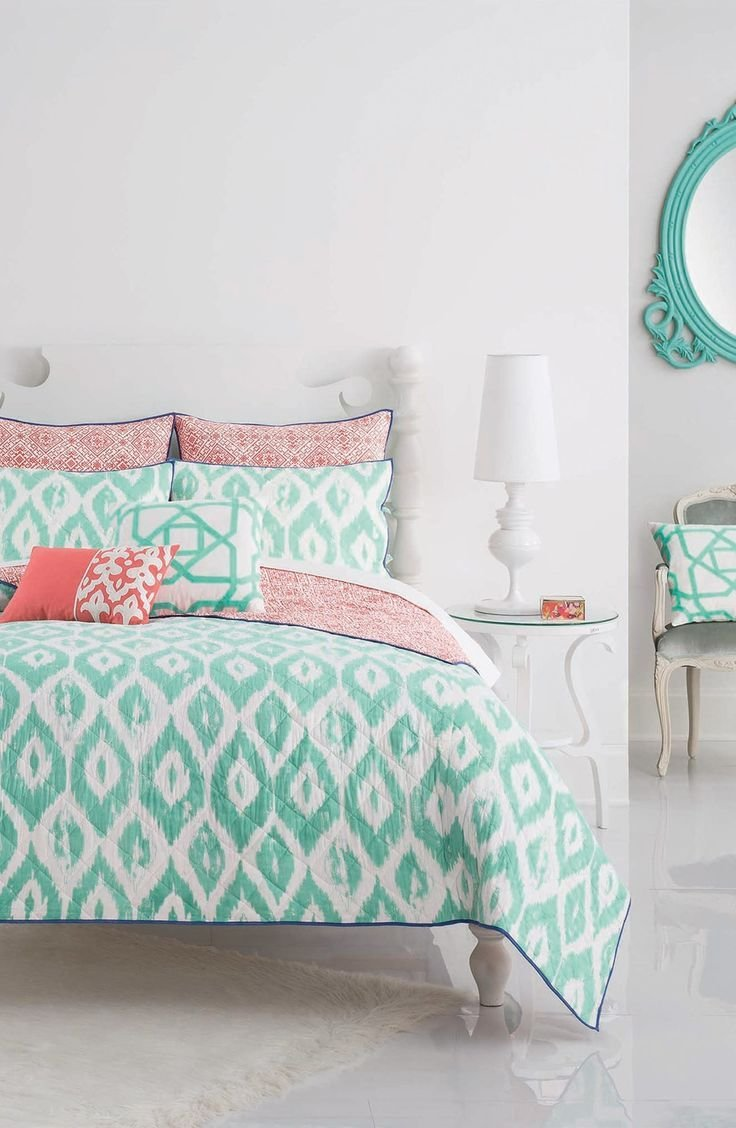 Best 25 Coral And Turquoise Bedding Ideas On Pinterest With Pictures