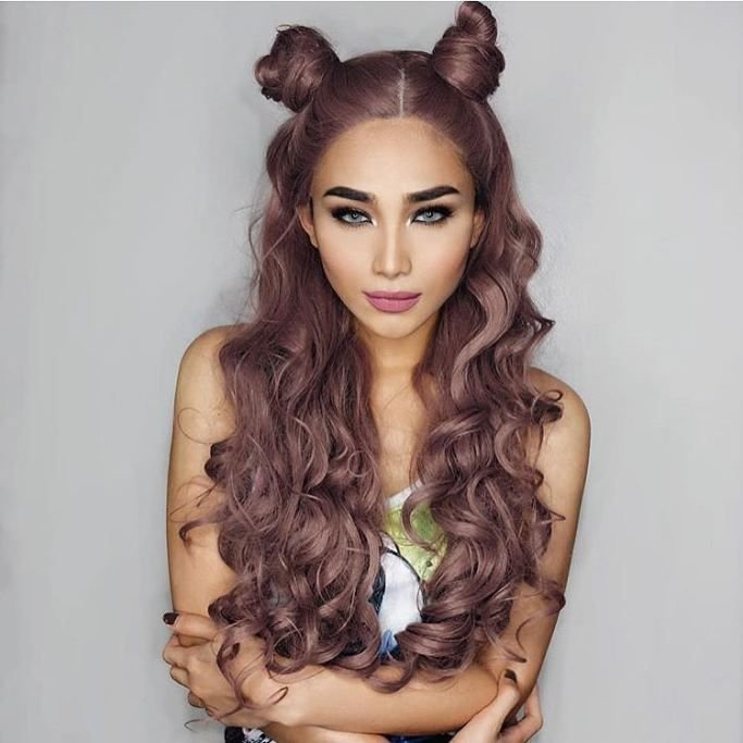 Free Best 25 Two Buns Ideas On Pinterest Two Buns Hairstyle Wallpaper