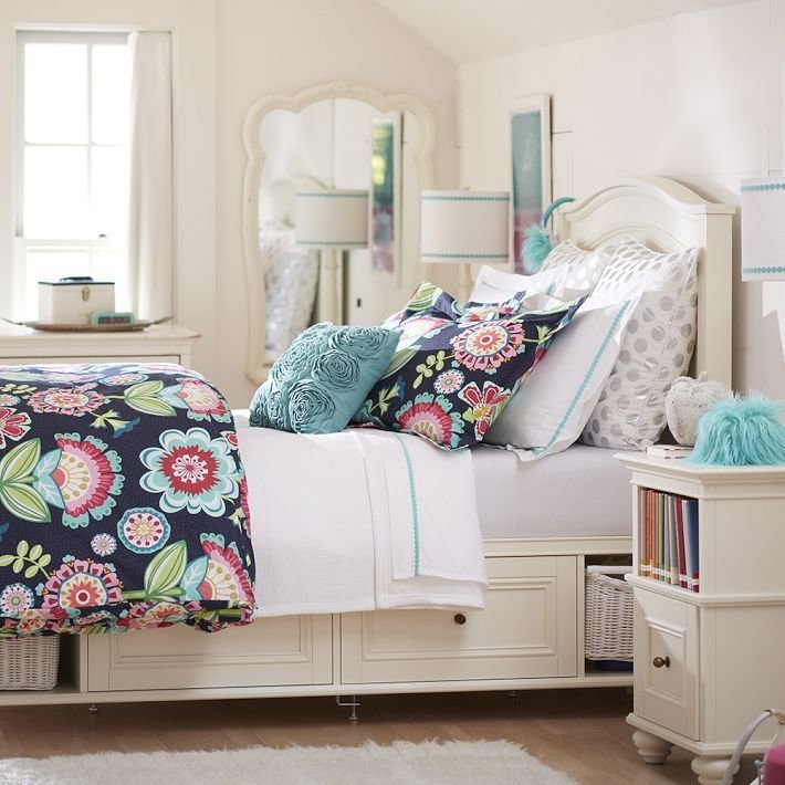 Best Pottery Barn T**N Chelsea Storage Bed Cool Kids Rooms With Pictures