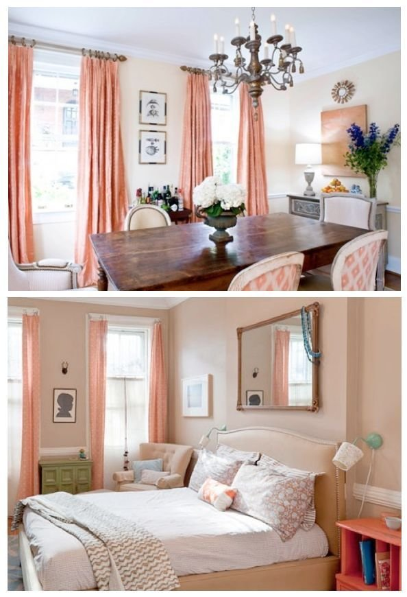 Best 25 Coral Curtains Ideas On Pinterest Peach With Pictures