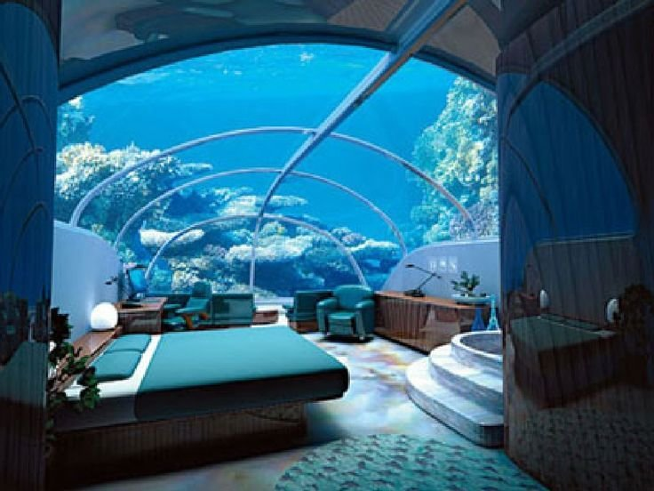 Best An Underwater Bedroom Is An Experience You Have To Try In With Pictures
