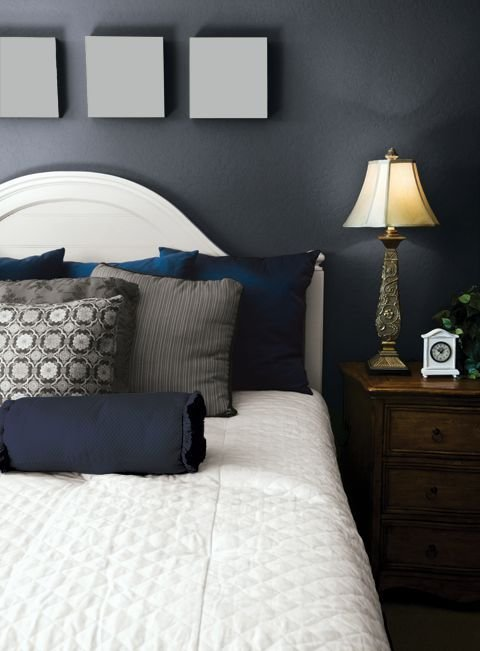 Best 25 Dark Blue Bedrooms Ideas On Pinterest Blue With Pictures