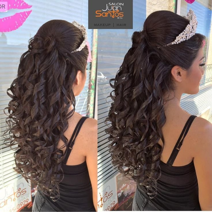Free 20 Absolutely Stunning Quinceanera Hairstyles With Crown Quinceanera Hairstyles Wallpaper