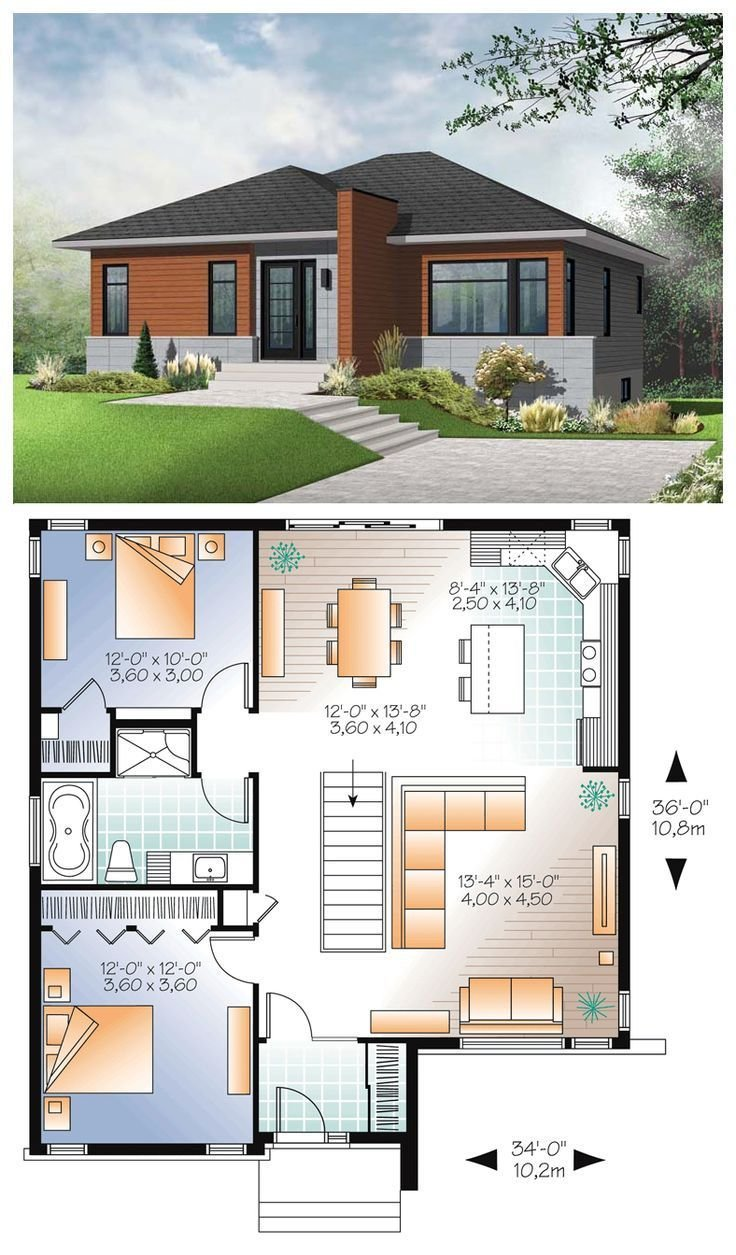 Best 10 Awesomely Simple Modern House Plans Plans Haus With Pictures