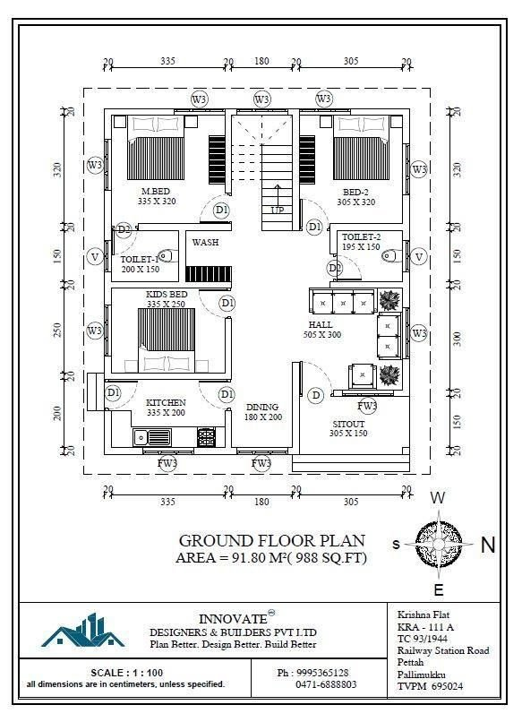 Best Latest Low Cost 1073 Sqft Kerala House Design And Free With Pictures