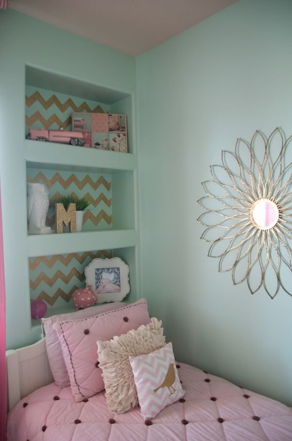 Best Teal And Pink Bedroom For Girl Teal And Gold Bedroom With Pictures