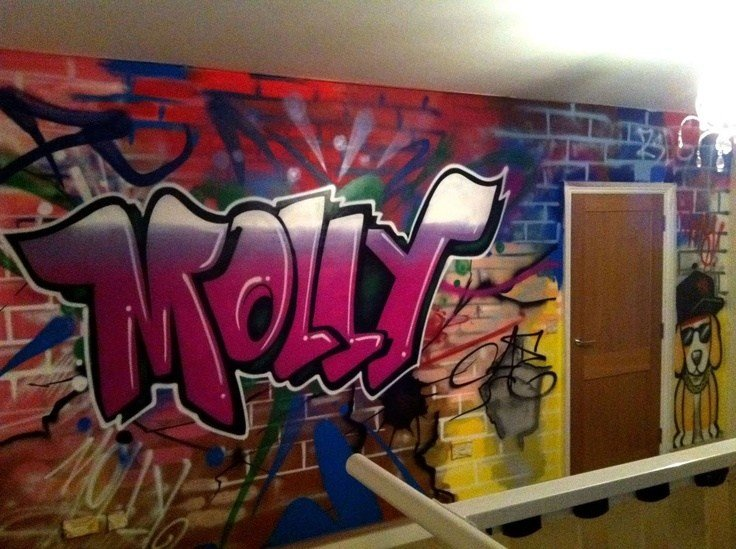 Best 108 Best Kids Bedroom Graffiti Images On Pinterest Kids With Pictures