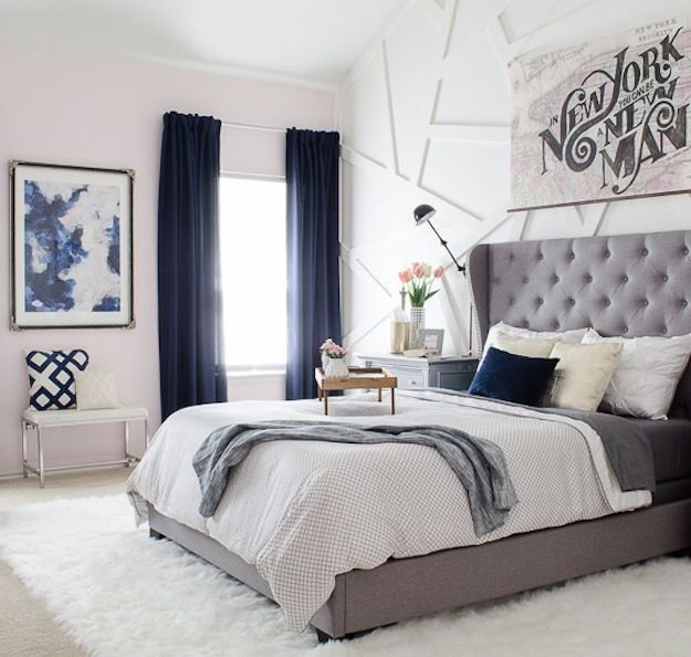 Best Navy Blue Bedroom Curtain Ideas 15 Ways To Decorate With Pictures