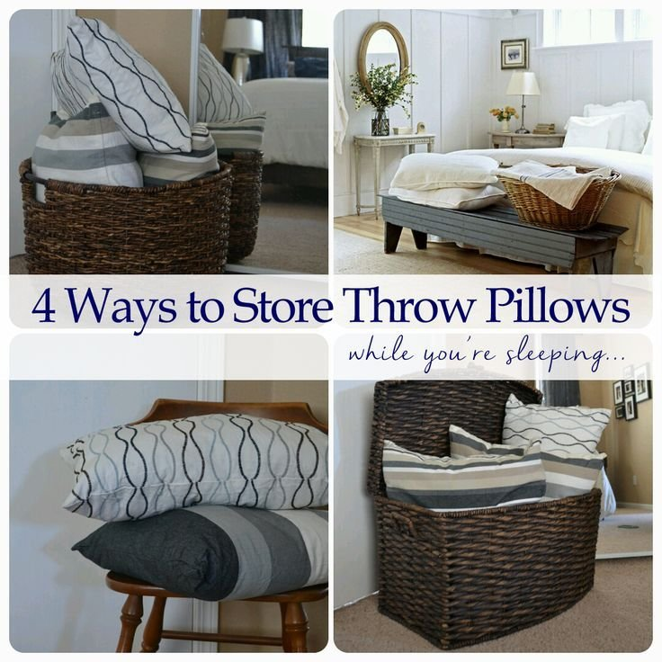 Best 25 Pillow Storage Ideas On Pinterest Storing With Pictures