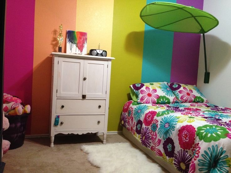 Best My 5 Year Old S Rainbow Room Girls Rooms Girls With Pictures