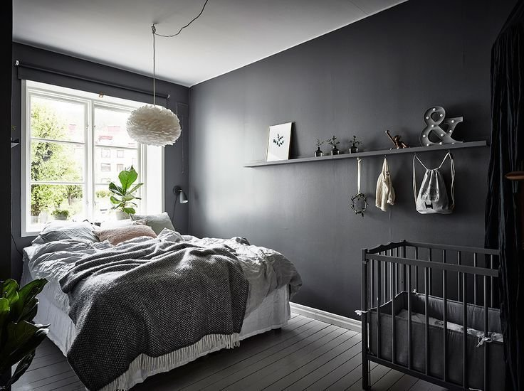 Best 25 Dark Grey Bedrooms Ideas On Pinterest Charcoal Paint Room Colors And Grey Bedroom Walls With Pictures