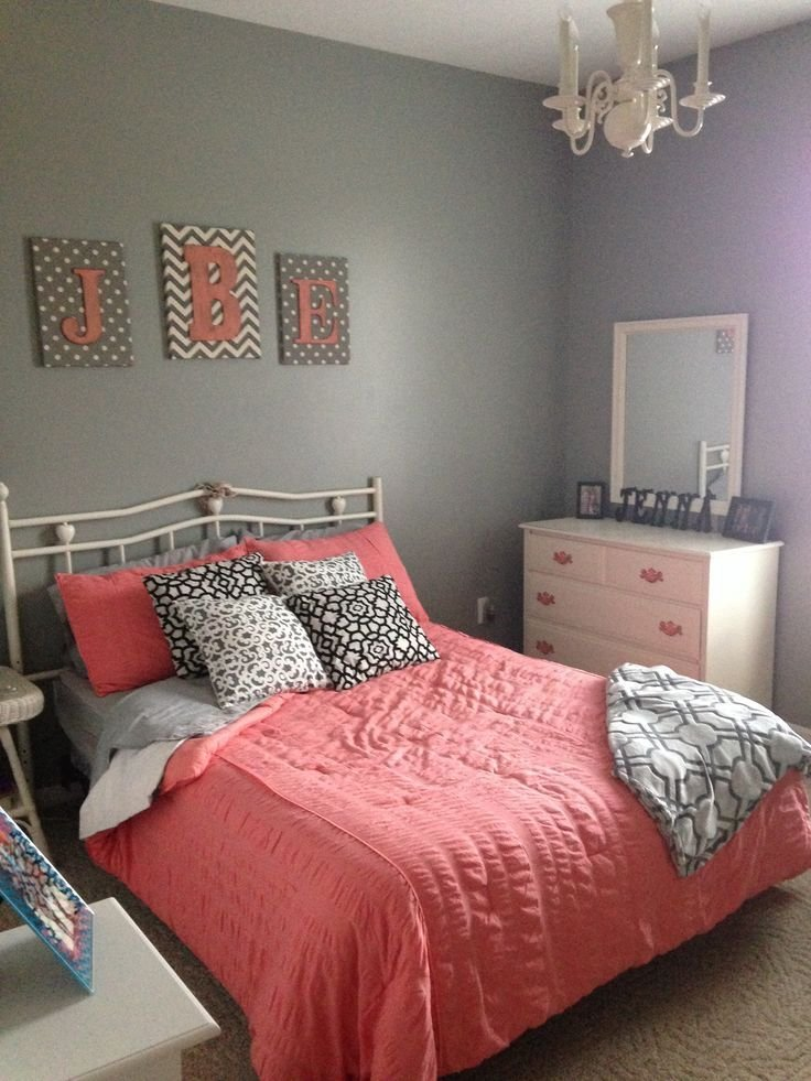 Best 25 Coral Bedspread Ideas On Pinterest Grey Bed With Pictures