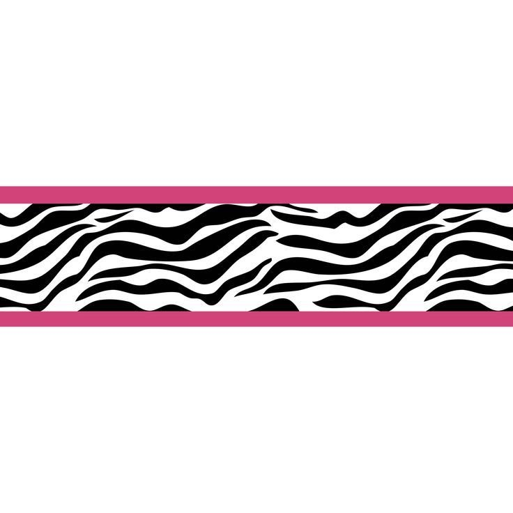 Best 44 Best Zebra Print Wall Border Images On Pinterest With Pictures