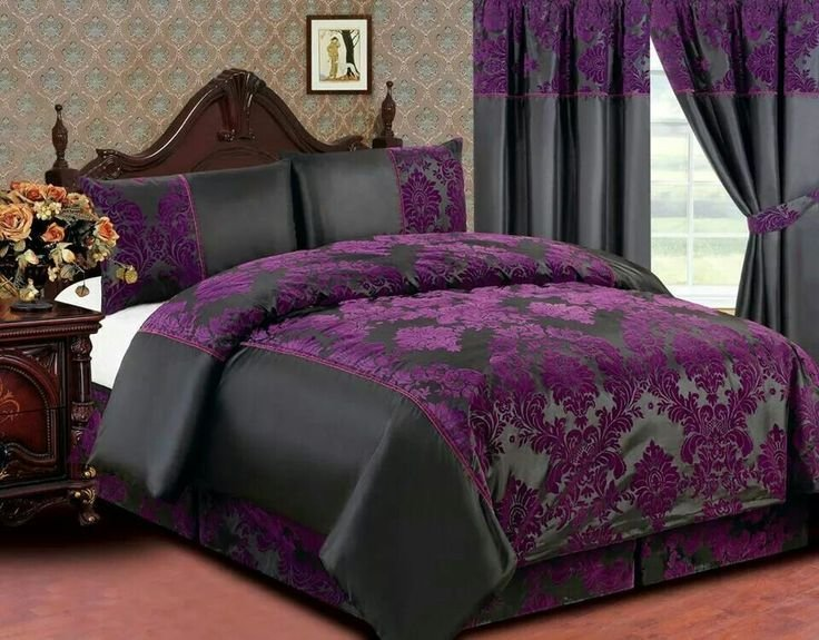 Best 25 Purple Black Bedroom Ideas On Pinterest With Pictures