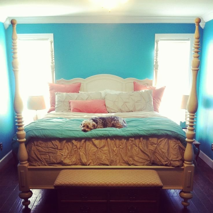 Best Turquoise And Coral Bedroom Ideas Color Palettes With Pictures