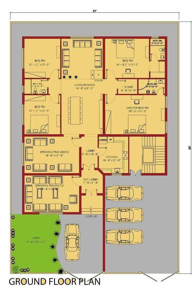 Best 25 2200 Sq Ft House Plans Ideas On Pinterest 4 With Pictures